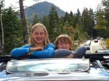 "My ""roads scholars"" pictured earlier this summer near Tahoe."