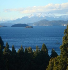 Another shot of the lake from our first day near Bariloche.