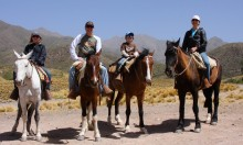 Getting a glimpse of gaucho life on a ranch near Mendoza, Argentina.