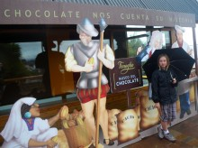 A tour of Bariloche's chocolate museum lifted our spirits one afternoon and also gave us all an interesting history lesson.