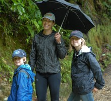 ... and the kids deserve credit for being great hikers!