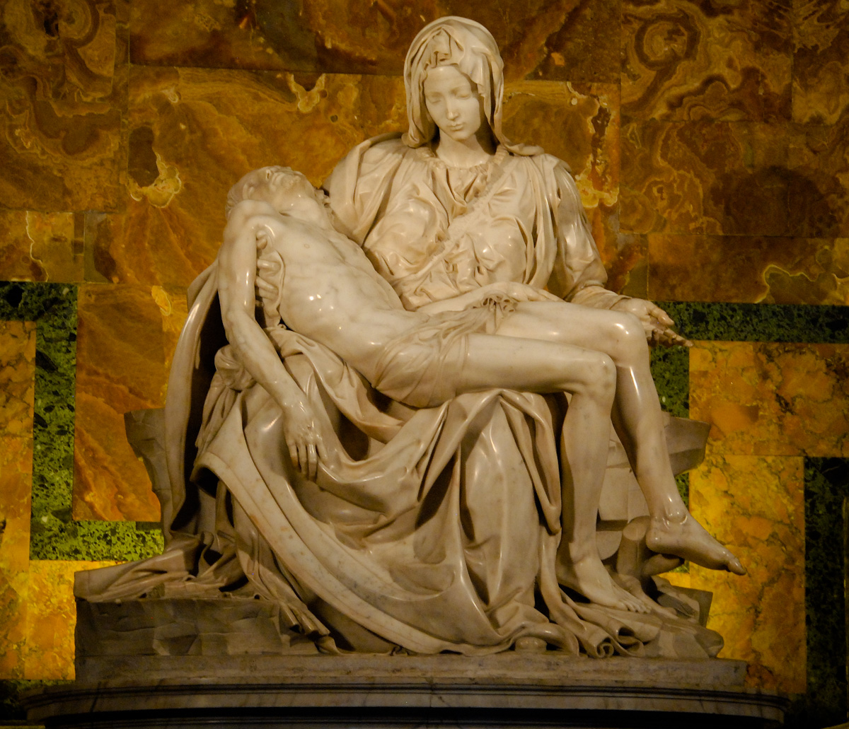 an examination of michelangelos pieta Of michelangelos pieta whisper of evil evil trilogy introduction to the study of  paper 1 mid year examination memorandam for life science grade 11 how to.
